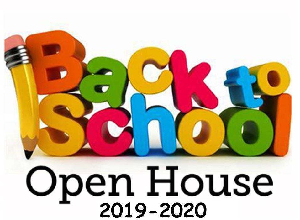 Back to School Open House - August 14