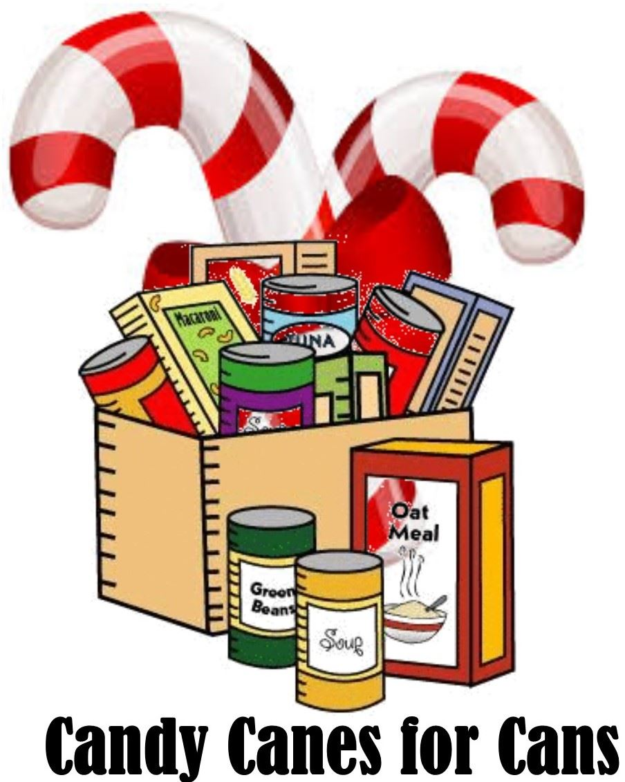 Candy Canes for Cans - December 10-14