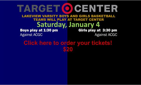 Lakeview Varsity will play at Target Center!