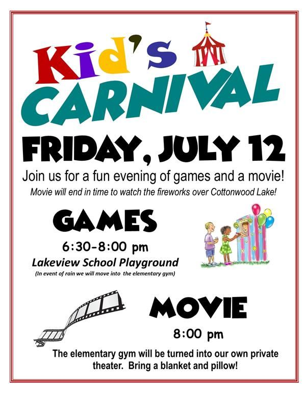 Kiddie Carnival - Coming Home Days!